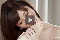 Yurikawa Sara and Kasugano Yui toe sucking nude